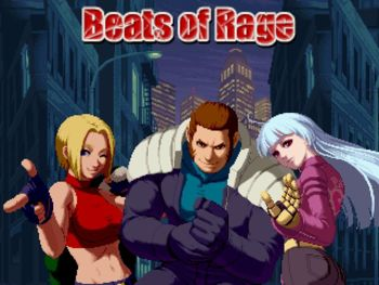 A Streets of Rage tribute featuring SNK King of Fighter Characters